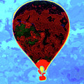 Flying High - Hot Air Balloon by P Donovan