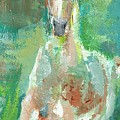 Foal  With Shades Of Green by Frances Marino