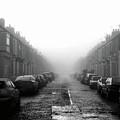 Foggy Terrace by Paul Downing