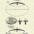 Football 1903 Jacobs Patent Art by Prior Art Design