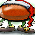 Football Christmas by Kevin Middleton