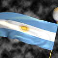 Football World Cup Cheer Series - Argentina by Ganesh Barad