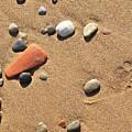 Footprint On Sand by Jouko Lehto