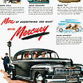 Ford Mercury Ad, 1946 by Granger