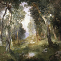 Forest Glade by Thomas Moran