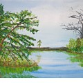 Fort Mc Coy Lake by Hal Newhouser
