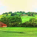 French Countryside by Dominic Piperata