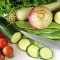 Fresh Vegetables by Carlos Caetano