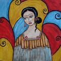 Frida Kahlo by Rain Ririn