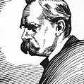 Friedrich Nietzsche by Granger