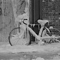 Frozen Bike by Gerard Yates