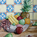 Fruit Bowl by Kandyce Waltensperger