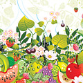 Fruit Garden by Lesley Smitheringale