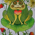 Fun Frog II by Lou Cicardo