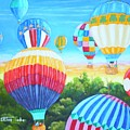 Fun With Balloons by Dennis Vebert