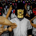 Furies Up To Bat by Al  Molina
