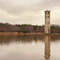 Furman Bell Tower 4 by David Waldrop