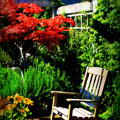 Garden Chair by Perry Webster