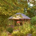 Garden Gazebo by Jim  Darnall