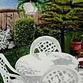 Garden Lights by Elizabeth Robinette Tyndall