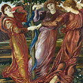 Garden Of The Hesperides by Sir Edward Burne Jones