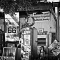 Gas Station On Route 66 by Hideaki Sakurai