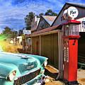 Gas Stop by Douglas Barnard