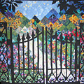 Gate Into The Garden by Sarah Hornsby