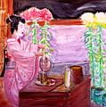 Geisha Tea Ceremony by Stanley Morganstein