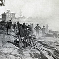 Gen Shermans Troops Destroying Railroad Before The Evacuation Of Atlanta - C 1864 by International  Images