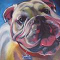 Georgia Bulldog by Kaytee Esser
