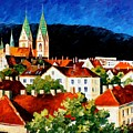 Germany - Freiburg  by Leonid Afremov