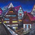 Germany Ulm Fischer Viertel by Yuriy  Shevchuk