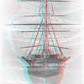 Ghost Ship - Use Red-cyan 3d Glasses by Brian Wallace