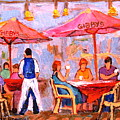 Gibbys Cafe by Carole Spandau