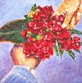 Gift A Bouquet - Bougenvillea by Usha Shantharam