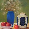 Ginger Jar And Apples......sold by Susan Dehlinger