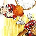 Girl's Basketball by Linda Shackelford