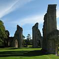 Glastonbury Abbey 3 by Kurt Van Wagner