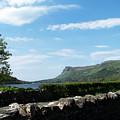 Glencar Lake With View Of Benbulben Ireland by Teresa Mucha