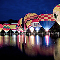 Glowing Balloons by Keith Allen