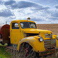 Gmc Yellow by Idaho Scenic Images Linda Lantzy