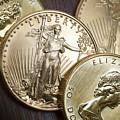Golden Coins by Joe Carini - Printscapes
