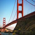 Golden Gate Bridge Sausalito by Doug Sturgess