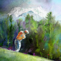 Golf In Crans Sur Sierre Switzerland 02 by Miki De Goodaboom
