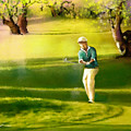 Golf In Spain Castello Masters  02 by Miki De Goodaboom