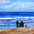Gone Fishing 2 by John Cox