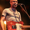 Gord Downie With Telecaster by David McDonald