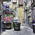Grafitti Alley by Mark Coran
