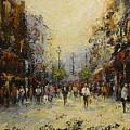 Grafton St.dublin by Margaret Kent
